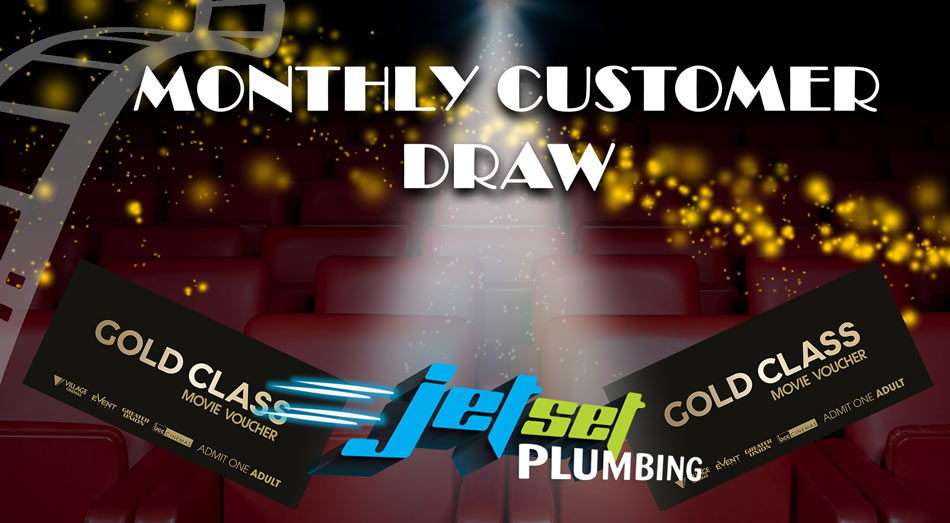 Customer Monthly Plumbing Giveaway